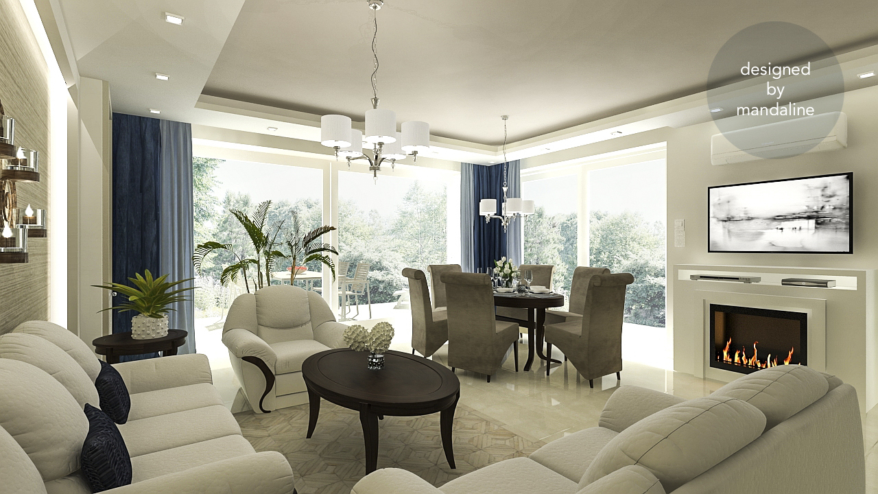 Classic modern family home | Mandaline